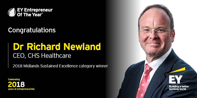 EY Awards Winner Dr Richard Newland