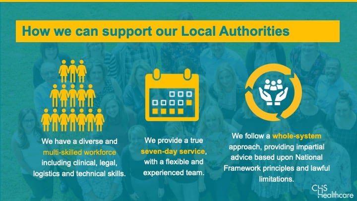 CHS support for Local Authorities
